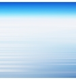 Abstract background with blue sky and clouds vector image vector image