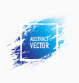 abstract splash blue vector image vector image