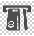 Bank ATM Icon vector image