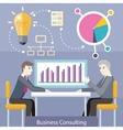 Business Consulting Concept vector image vector image