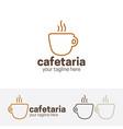 cafeteria logo vector image
