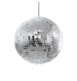 disco shiny ball vector image