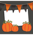 halloween ornament vector image vector image