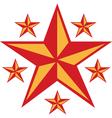 Retro Star vector image vector image