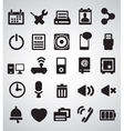 set internet icons - part 2 vector image vector image