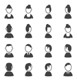 Set of avatar icons vector image vector image