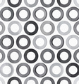 abstract monochrome circle seamless texture vector image vector image