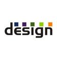 design modern emblem vector image vector image