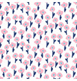 hand drawn small flowers modern pattern seamless vector image vector image