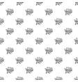 kaboom explosion pattern vector image