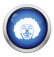 Party clown face icon vector image vector image