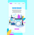 tablet and smartphone with open browser searching vector image