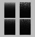 abstract digital diagonal square pattern brochure vector image vector image