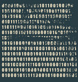 binary code backdrop vector image