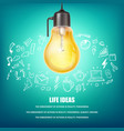 creative ideas concept vector image