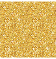 Golden Glitter Background - seamless pattern vector image vector image