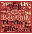 How to Hunt for Big Game Backlinks text background vector image vector image