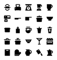 Kitchen Utensils Icons 4 vector image vector image