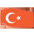 turkey national flag vector image