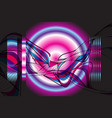 abstract background with interesting vector image vector image
