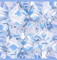 background with ice cubes vector image vector image