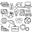 economy sketch images vector image vector image
