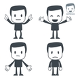 emotions icon man vector image vector image
