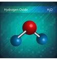 Molecules vector image vector image