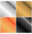 set of pop art background vector image