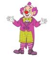 Funny Circus Clown vector image