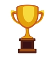 Champion cup icon vector image vector image
