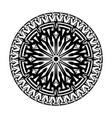 ethnic tattoo 0006 vector image