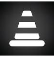 Icon of Traffic cone vector image vector image