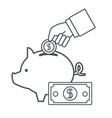 money certificate of deposit vector image