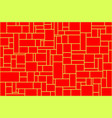 new creative abstract red and yellow background vector image vector image