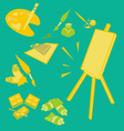 Painttools 2 vector image vector image