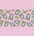 pattern wallpaper cocktail tequila bar design vector image vector image