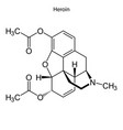 skeletal formula chemical molecule vector image