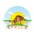 Sunny Hyena vector image