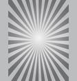 black sunburst background vector image