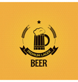 Beer mug vintage design background