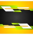 Bright contrast tech corporate background vector image vector image
