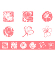Cherry Blossom Logo vector image vector image