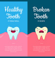 concept with cartoon healthy vector image vector image