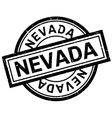 Nevada rubber stamp vector image vector image