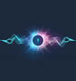 voice assistant concept and sound vector image