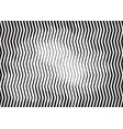 zigzag wave striped engraving halftone background vector image vector image