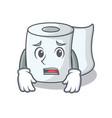 afraid tissue character cartoon style vector image vector image
