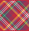 check diagonal plaid tartan seamless fabric vector image vector image