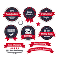Classic Premium Quality Ecommerce Badges vector image